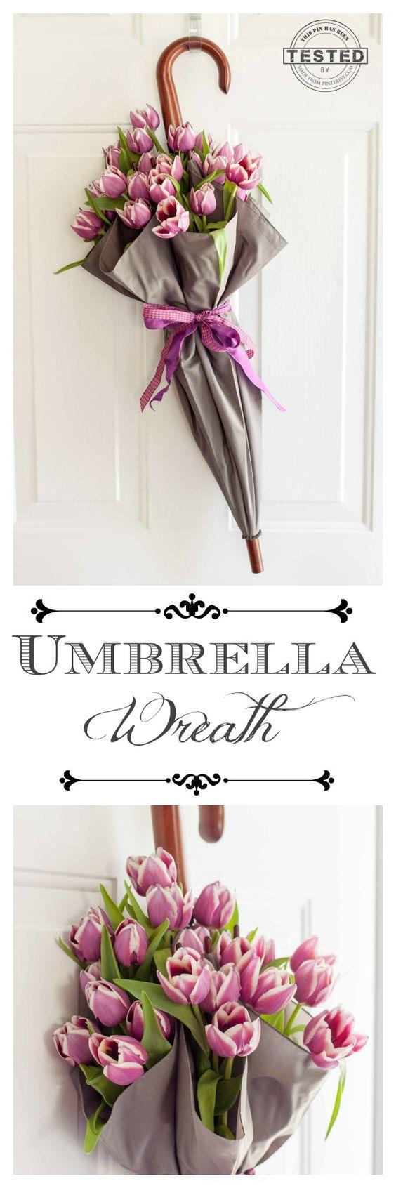 composioni di fiori con ombrello 6