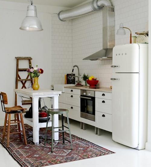 cucine parete mattoni 48
