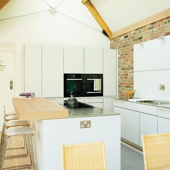 cucine parete mattoni 59