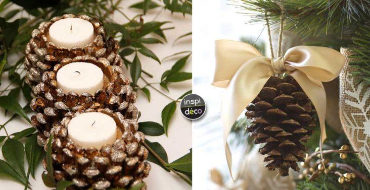 Arbuste avec des pommes de pin 20 id es d co pour vous inspirer - Des idees pour decorer sa maison ...