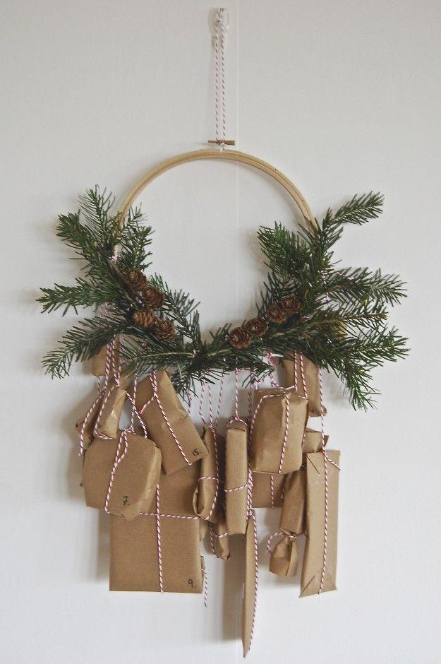 decorazione con ramo di pino 4