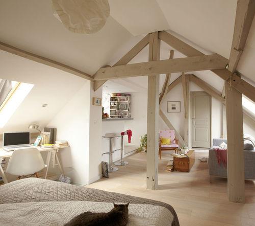 salon et chambre dans la même pièce! 20 idées pour aménager... - Comment Decorer Son Appartement