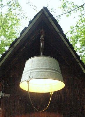 lampadaires fait maison