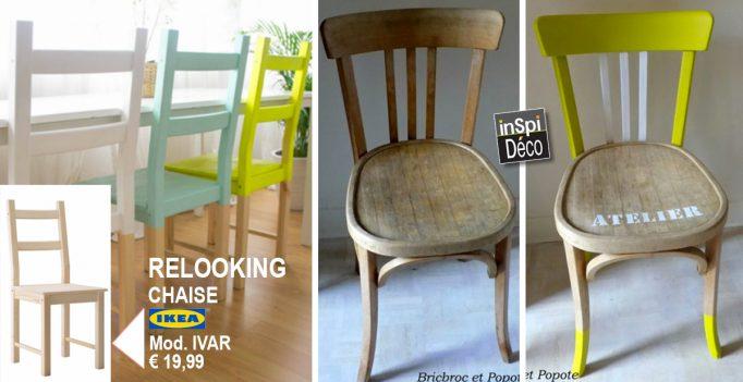 Donner un nouveau look à une chaise