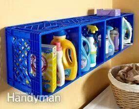 riciclo cassette della frutta in plastica 10