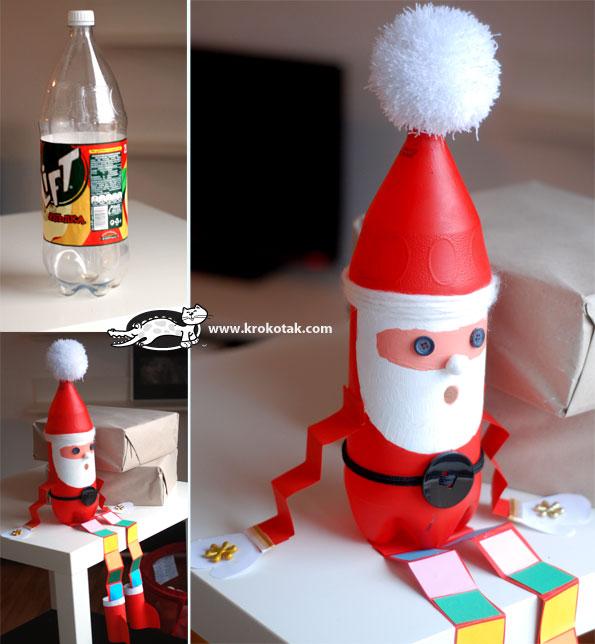 riciclo-creativo-bottiglie-di-plastica-natale-16