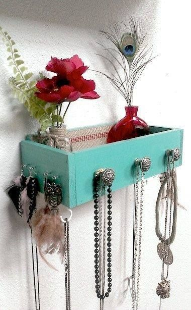 riciclo creativo cassetti comodino 11
