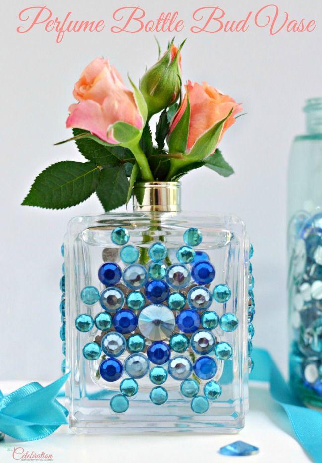 riciclare i flaconi di profumo vuoti