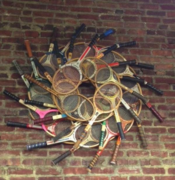 riciclo racchetta da tennis 19