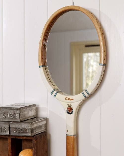 Recycler une vieille raquette de tennis
