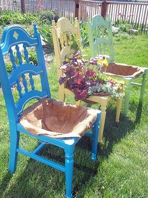 riciclo vecchia sedia 13