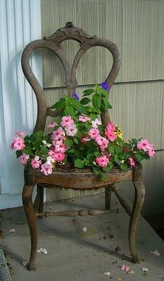 riciclo vecchia sedia 14
