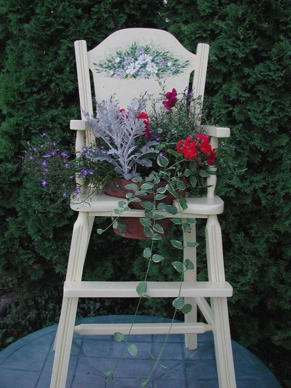 riciclo vecchia sedia 16