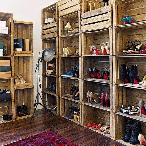 Rangement Chaussures Original! Voici 20 Idées Récup