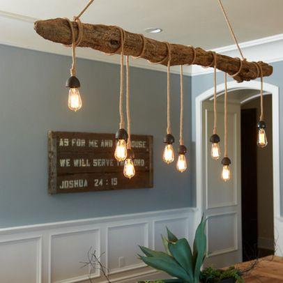 Créer une lampe avec un tronc