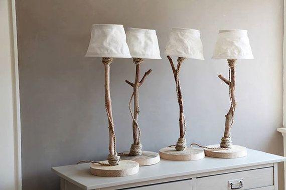 baumstamm lampe lampe mit einem baumstamm hhe ca cm breite cm die lichtquelle ist ledband draht. Black Bedroom Furniture Sets. Home Design Ideas