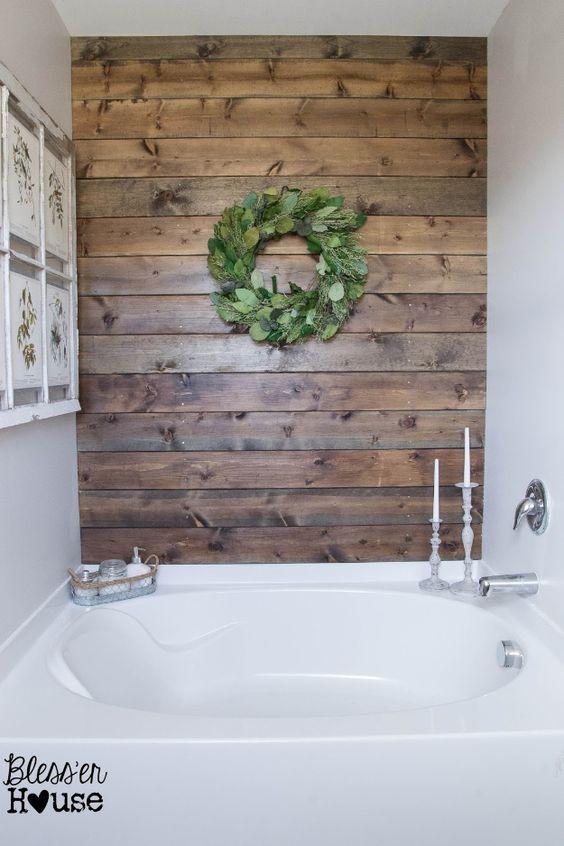 D co salle de bain avec des palettes 20 id es pour vous for Decorer salle de bain
