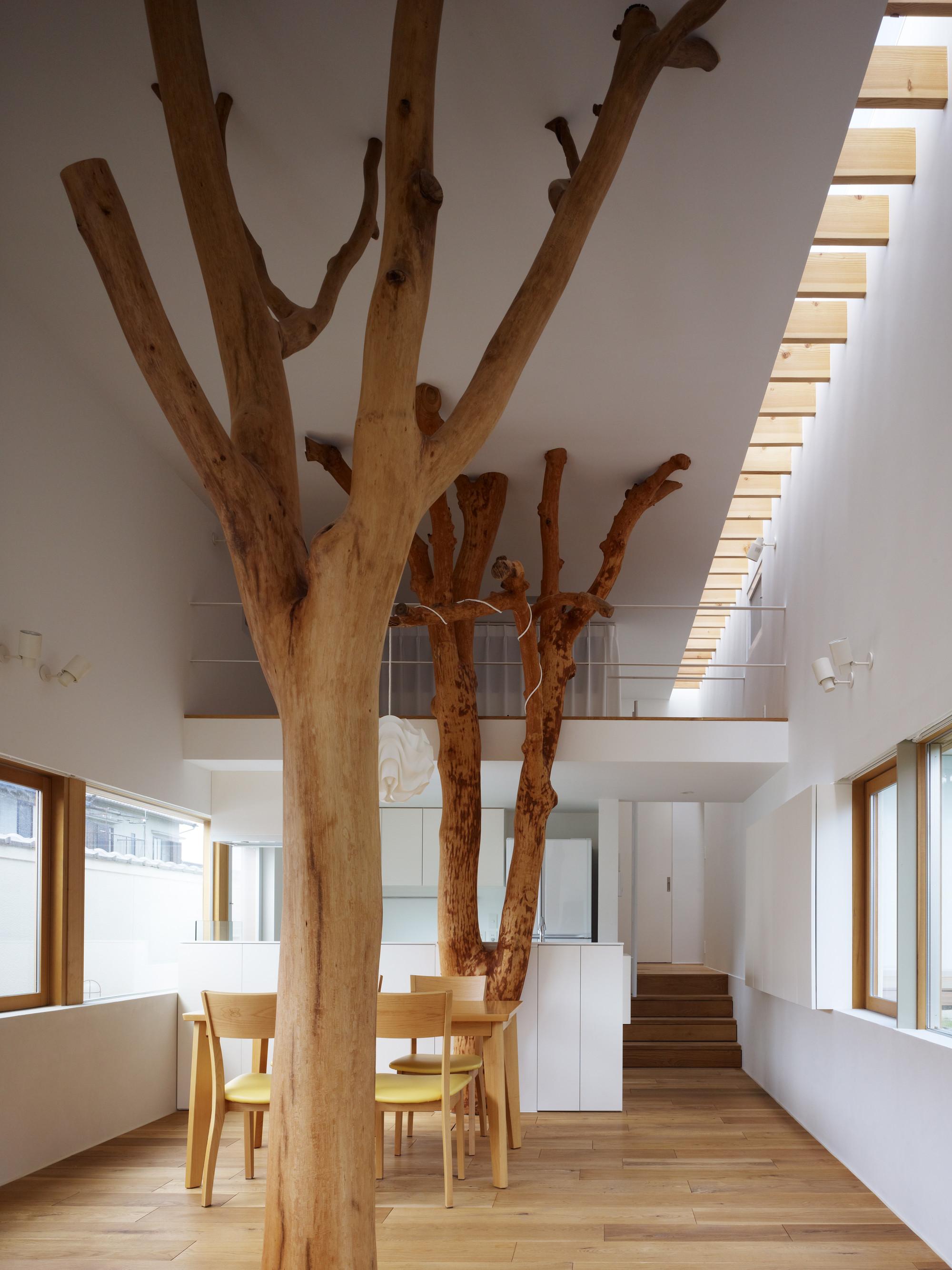 Дизайн как сделать дерево в интерьере