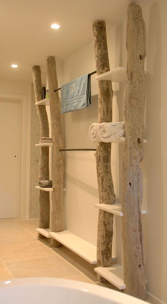 Déco avec arbres et troncs