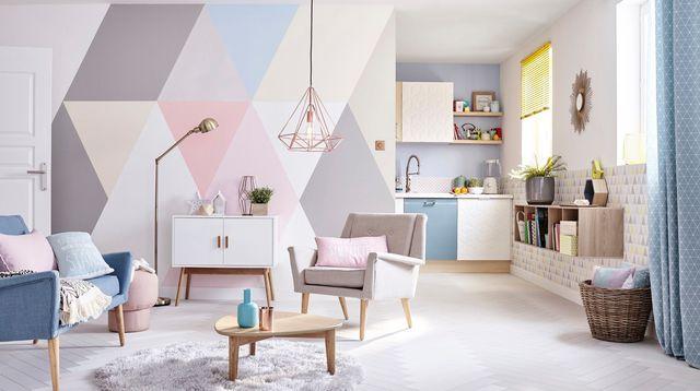 peintures d co dans votre int rieur 20 id es inspirantes. Black Bedroom Furniture Sets. Home Design Ideas