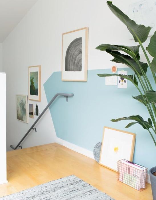 dipingere parete casa design 6