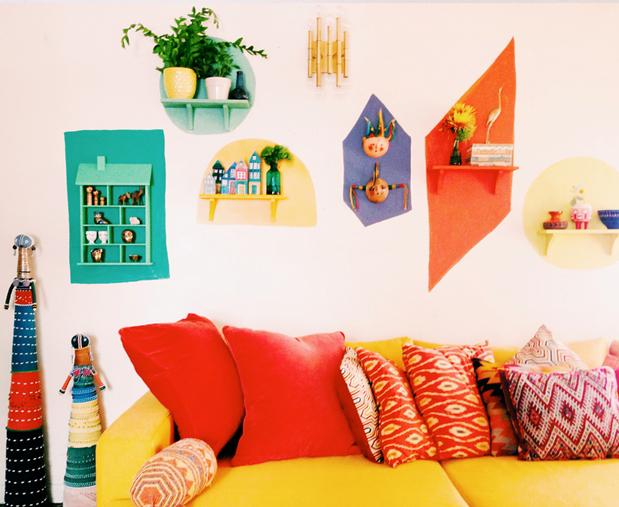 dipingere parete casa design 7b