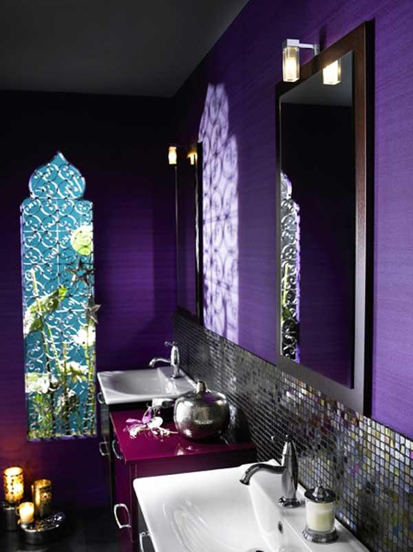 Salle de bains style oriental
