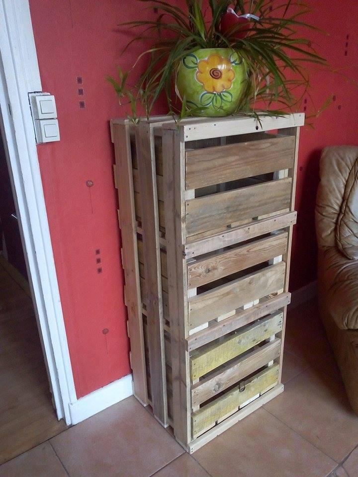 Des meubles originaux en bois de palette 20 id es - Mobili decape fai da te ...