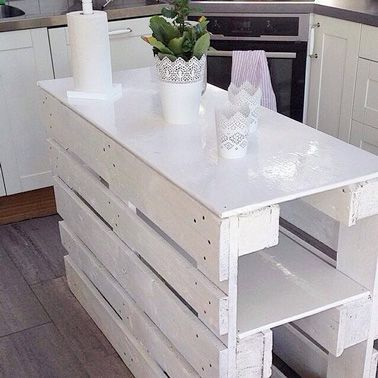 Pallets Shabby chic! 20 sublime achievements for you inspire...