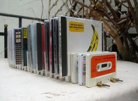 Recyclage créatif des cassettes audio