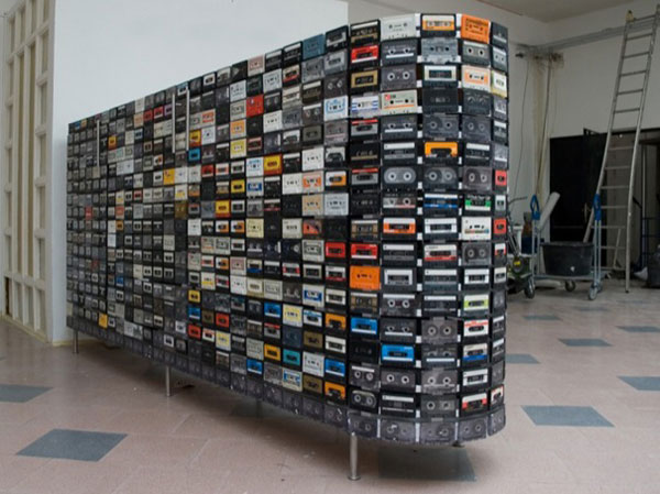 riciclare cassette audio 2