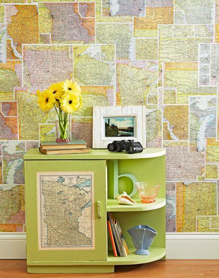 riciclo mappa geografica 10