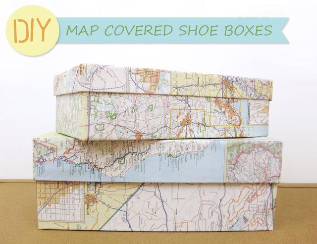 riciclo mappa geografica 16