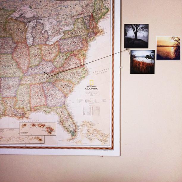 riciclo mappa geografica 7