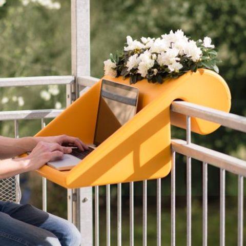 Gain de place pour le balcon