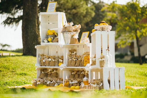 Inspi déco mariage cagettes en bois