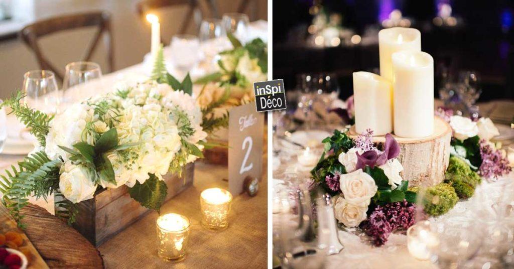 Centre De Table Avec Fleurs Pour Mariage Voici 20 Deco Sublimes