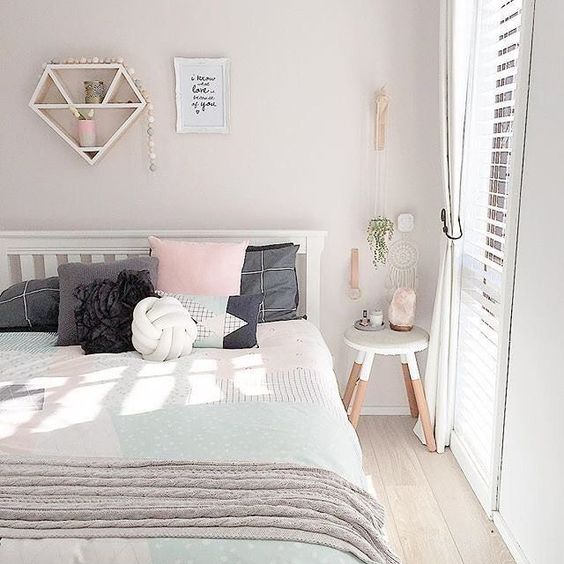 Bedroom Ideas 2016 Bedroom Chairs Dublin Design Of Kids Bedroom Elegant Bedroom Color Ideas: Couleurs Pastel Pour La Chambre à Coucher! 20 Idées Pour