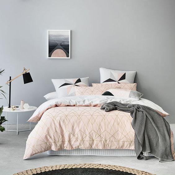 couleurs pastel pour la chambre coucher 20 id es pour vous inspirer. Black Bedroom Furniture Sets. Home Design Ideas