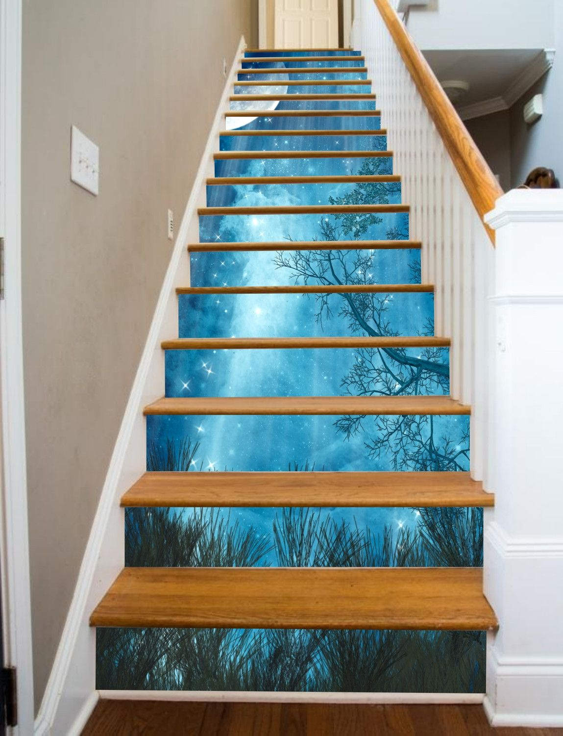 Decorate Stairways With Fantasy