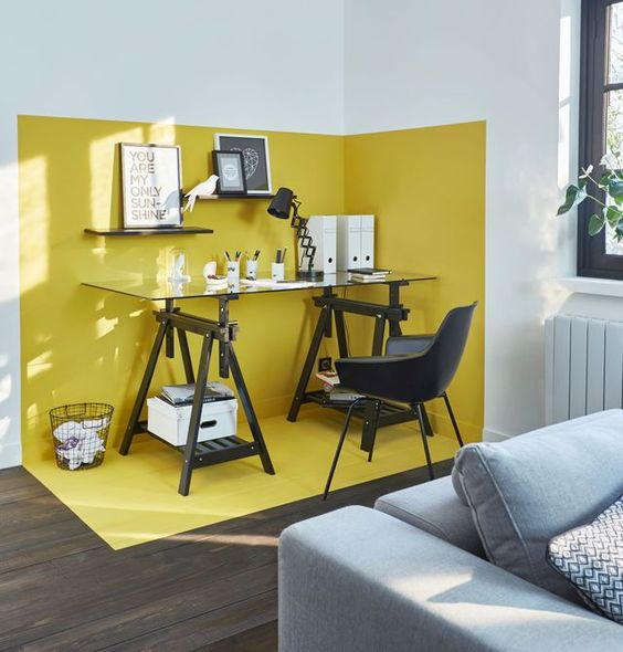Un angle design dans le salon