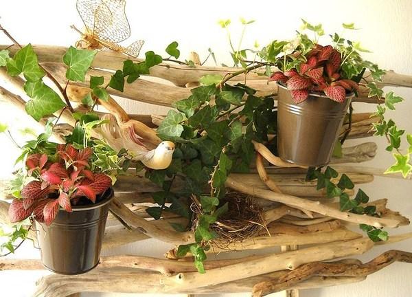 decorazioni fai da te con legno di mare 12
