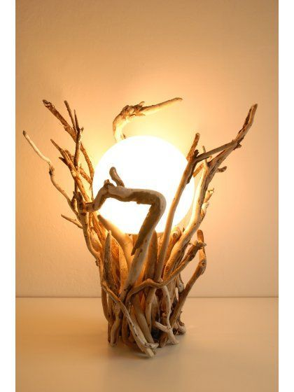 Inspi déco avec du bois flotté