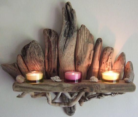 decorazioni fai da te con legno di mare 4