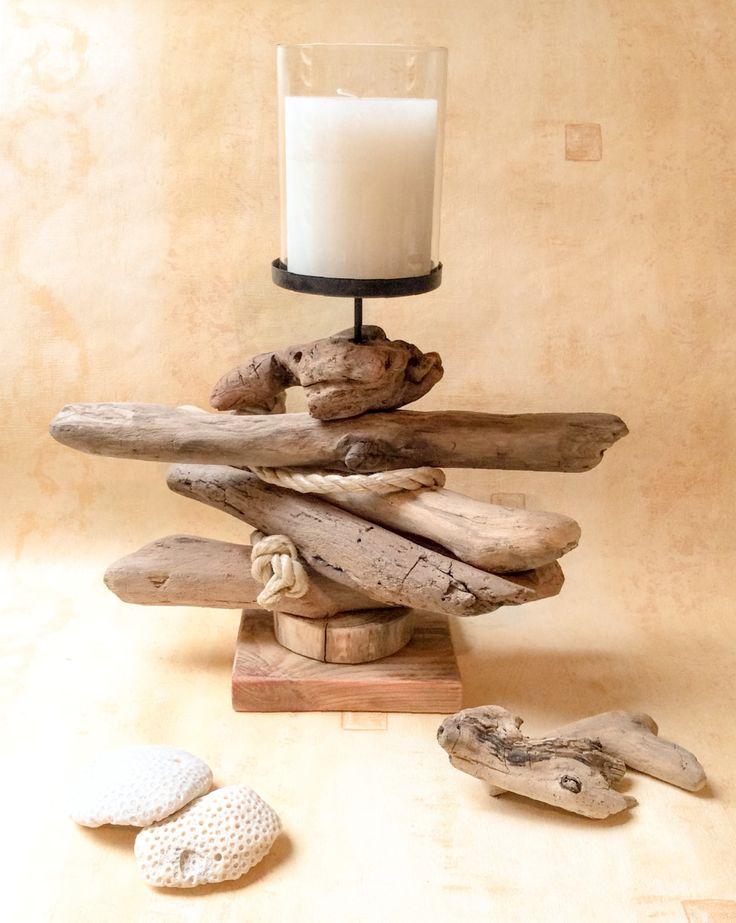 decorazioni fai da te con legno di mare 9