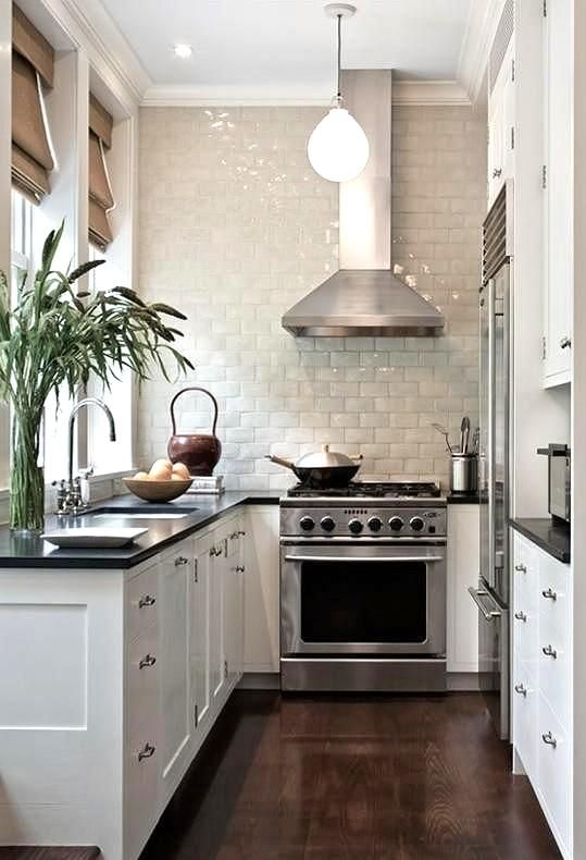 Aménager une cuisine en longueur! 20 exemples pour vous inspirer...