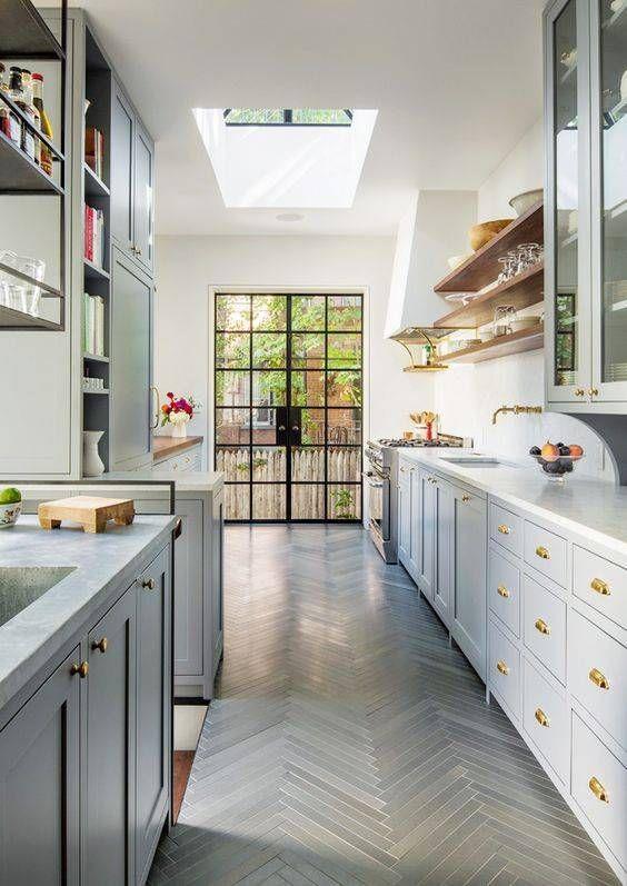 Aménager une cuisine en longueur