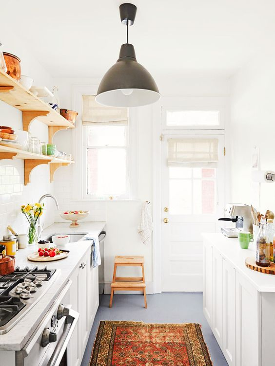 am 233 nager une cuisine en longueur 20 exemples pour vous inspirer
