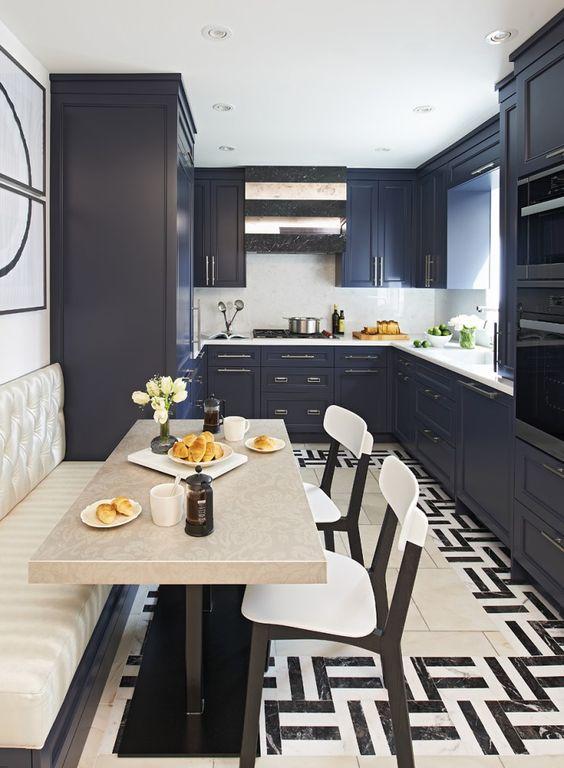 Am nager une cuisine en longueur 20 exemples pour vous for Cuisine etroite design