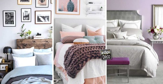couleurs pastel pour la chambre coucher 20 id es pour. Black Bedroom Furniture Sets. Home Design Ideas